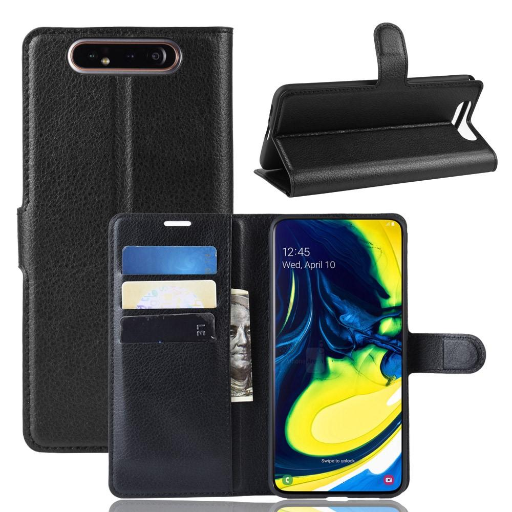 Mobilveske Samsung Galaxy A80 svart