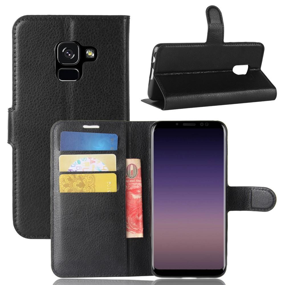 Mobilveske Samsung Galaxy A8 2018 svart