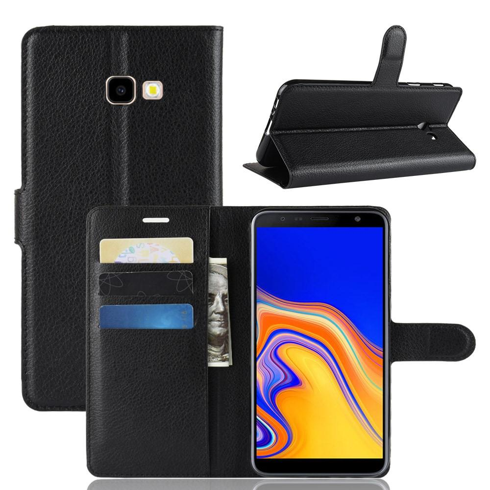 Mobilveske Samsung Galaxy J4 Plus 2018 svart