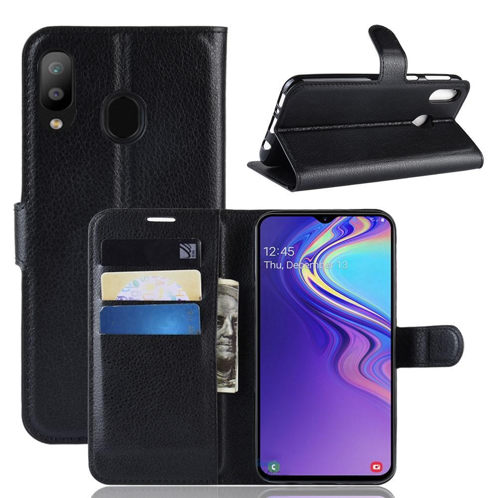 Mobilveske Samsung Galaxy M20 svart