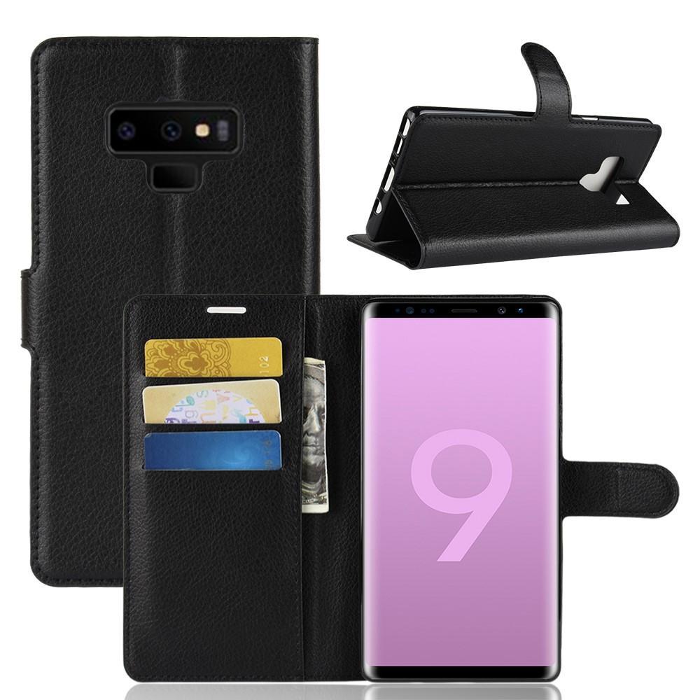 Mobilveske Samsung Galaxy Note 9 svart