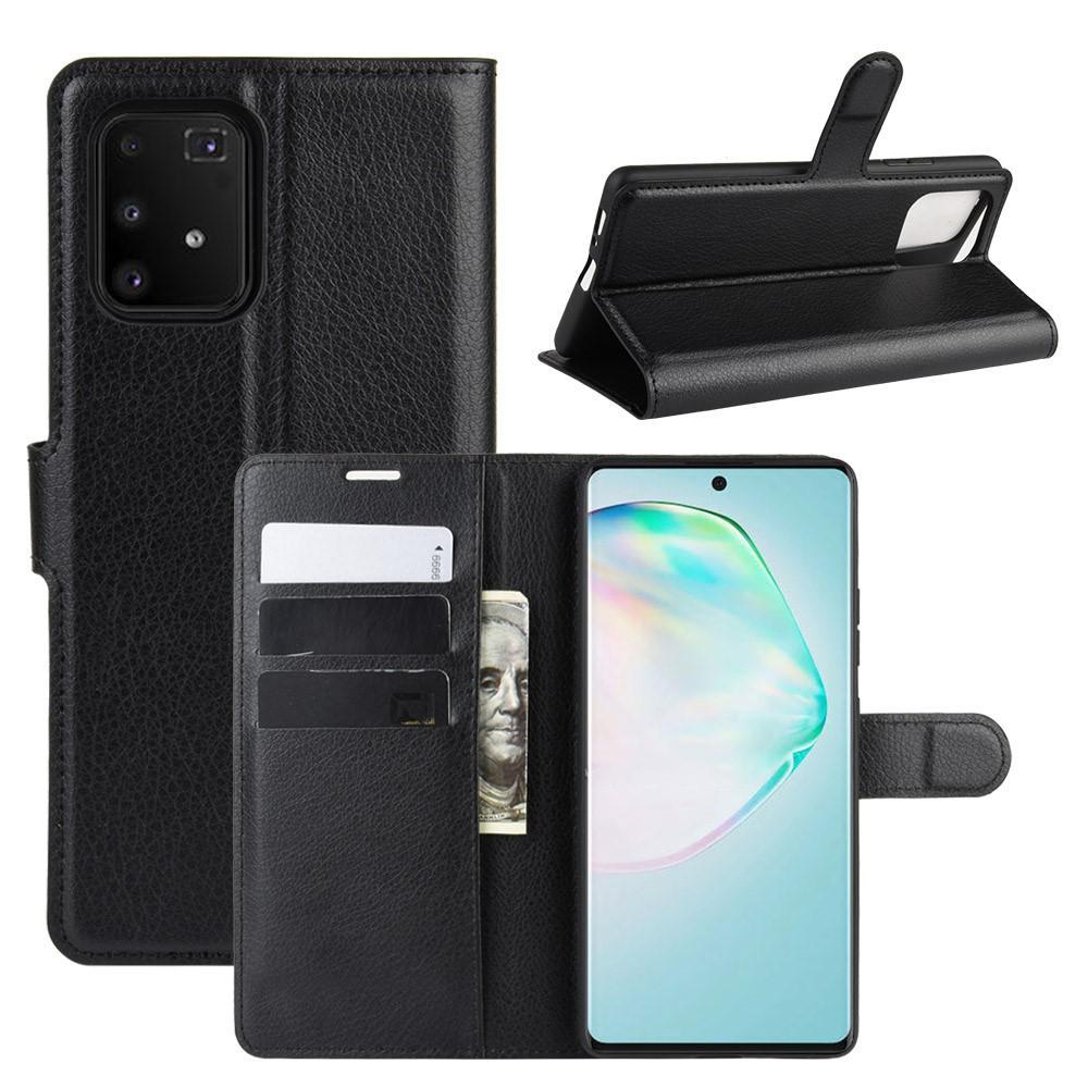 Mobilveske Samsung Galaxy S10 Lite svart
