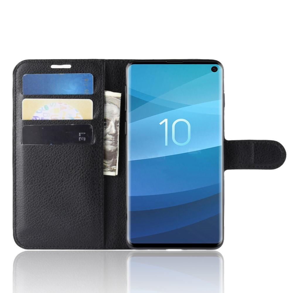 Mobilveske Samsung Galaxy S10 svart