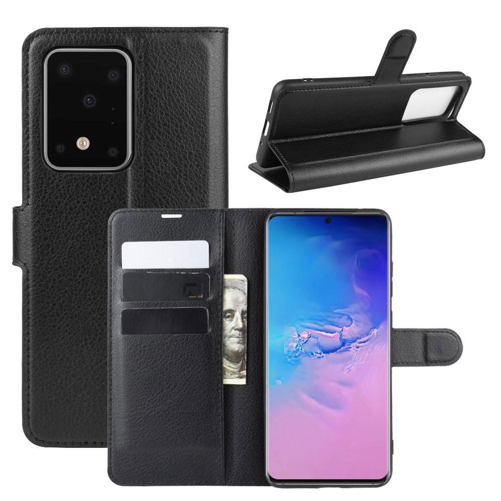 Mobilveske Samsung Galaxy S20 Ultra svart
