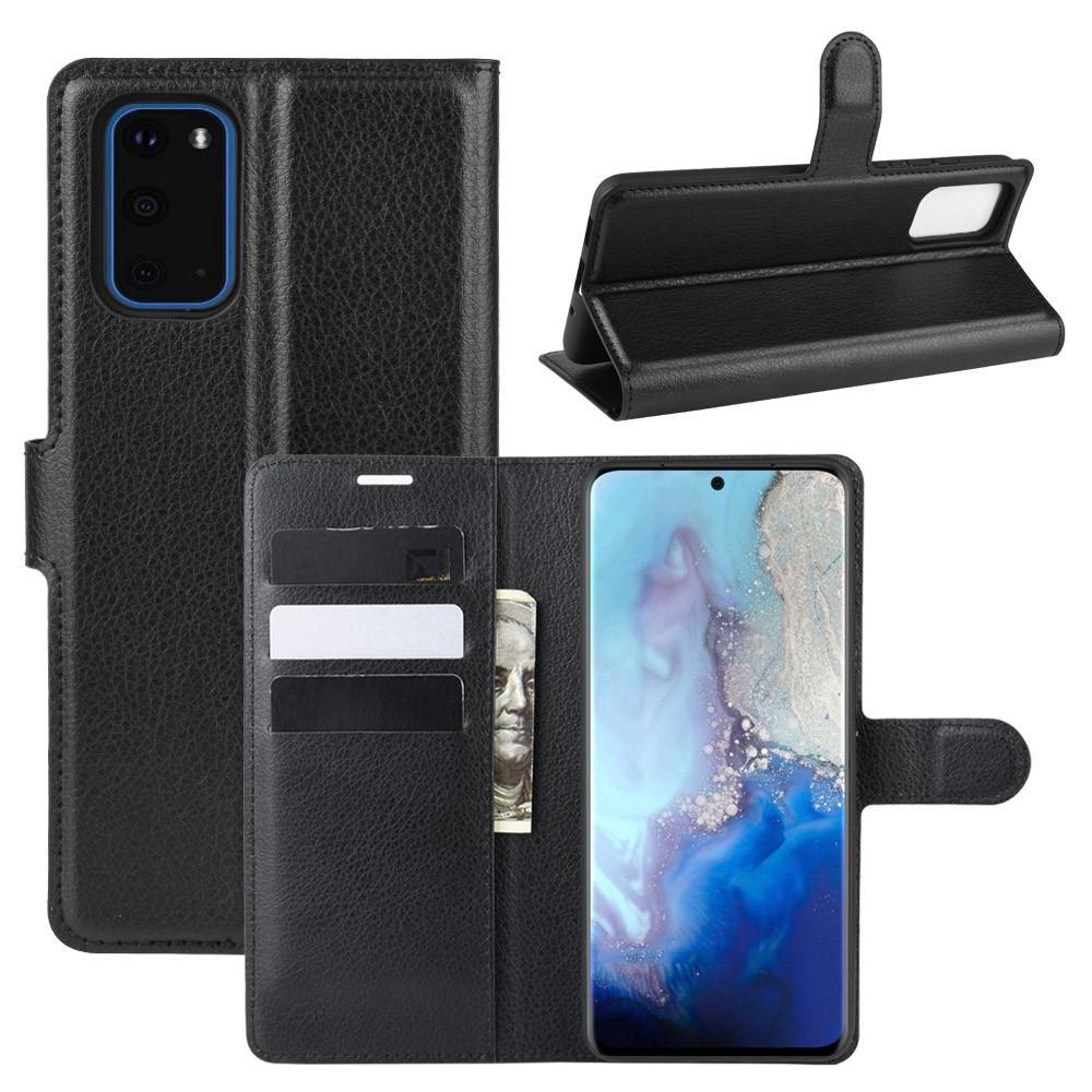 Mobilveske Samsung Galaxy S20 svart