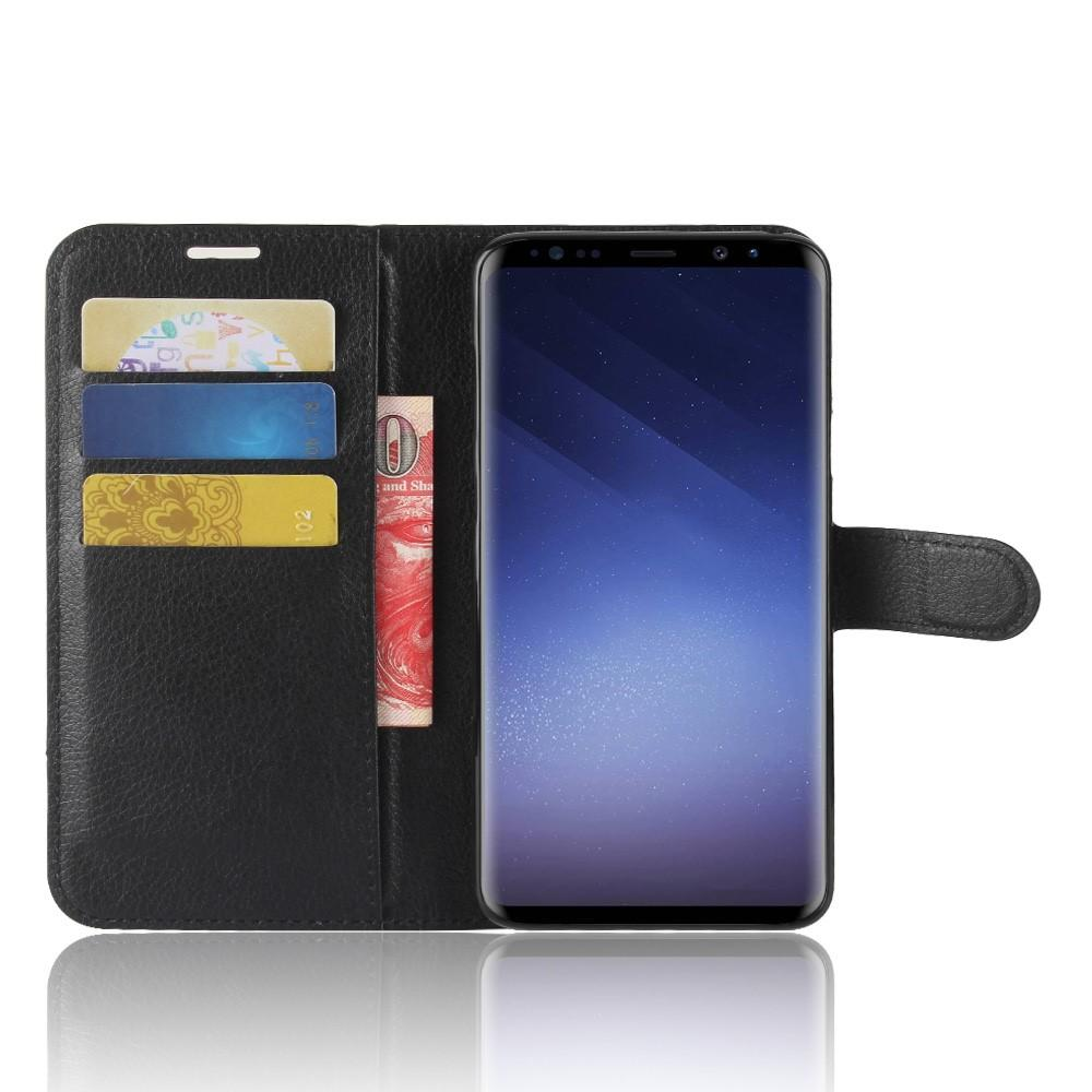 Mobilveske Samsung Galaxy S9 Plus svart