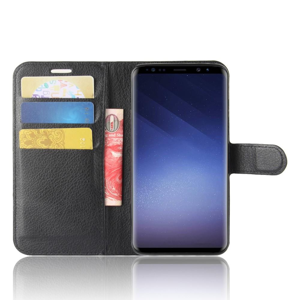Mobilveske Samsung Galaxy S9 svart