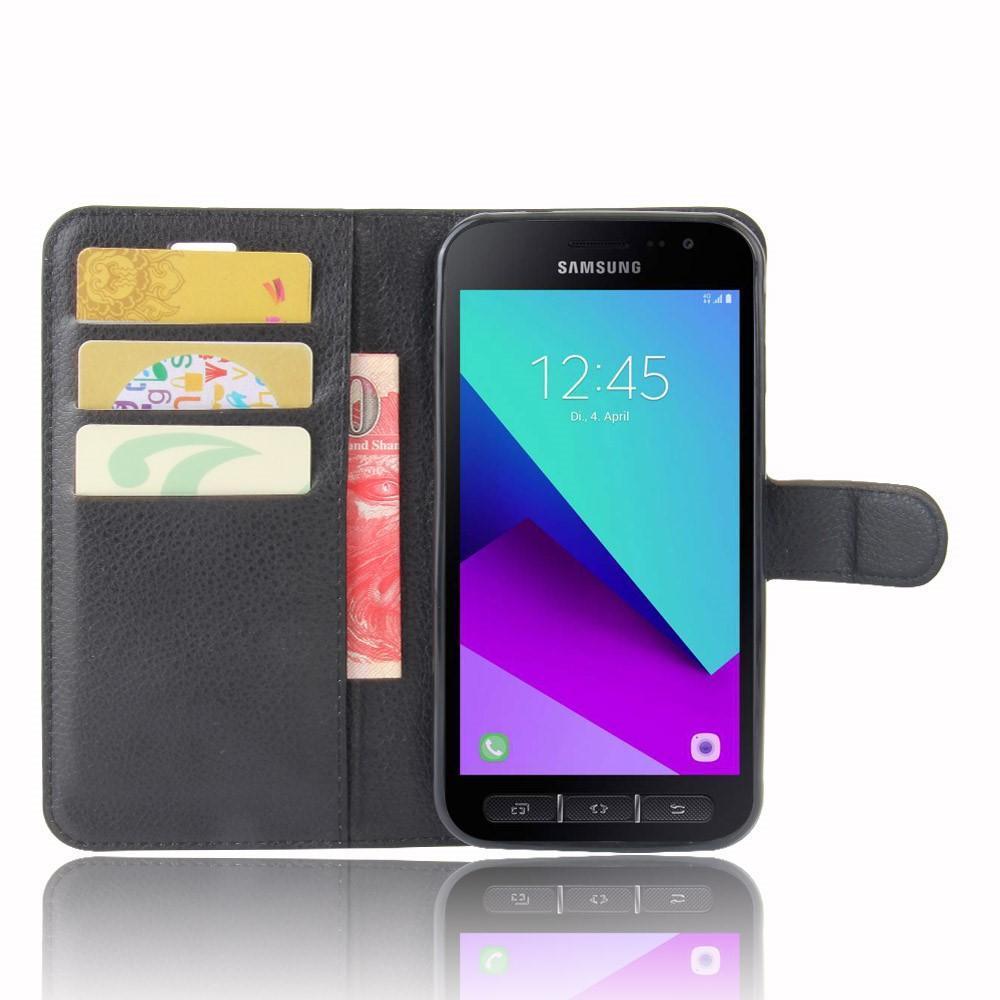 Mobilveske Samsung Galaxy Xcover 4/4s svart