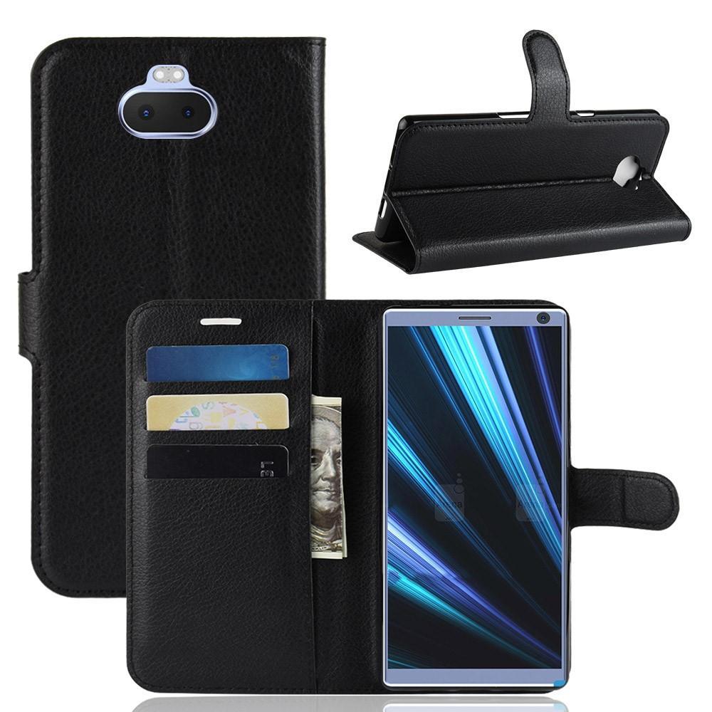 Mobilveske Sony Xperia 10 svart