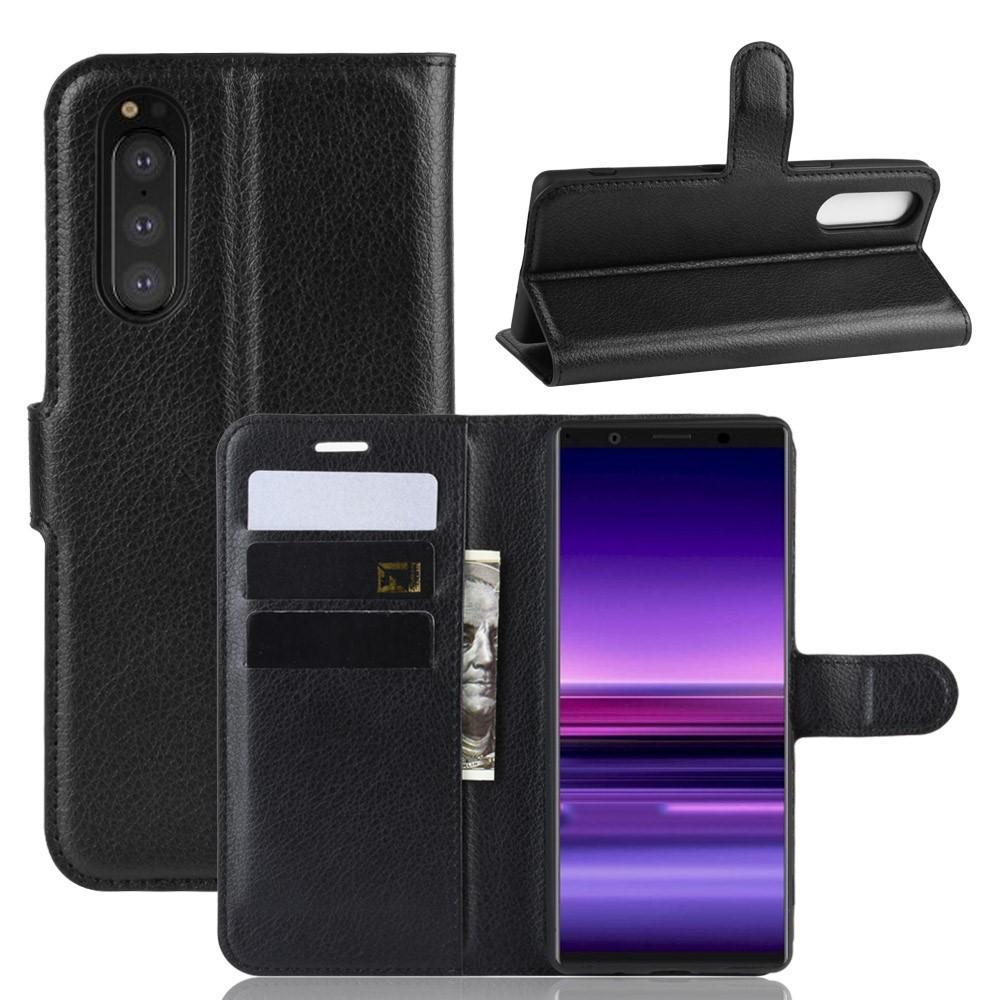 Mobilveske Sony Xperia 5 svart