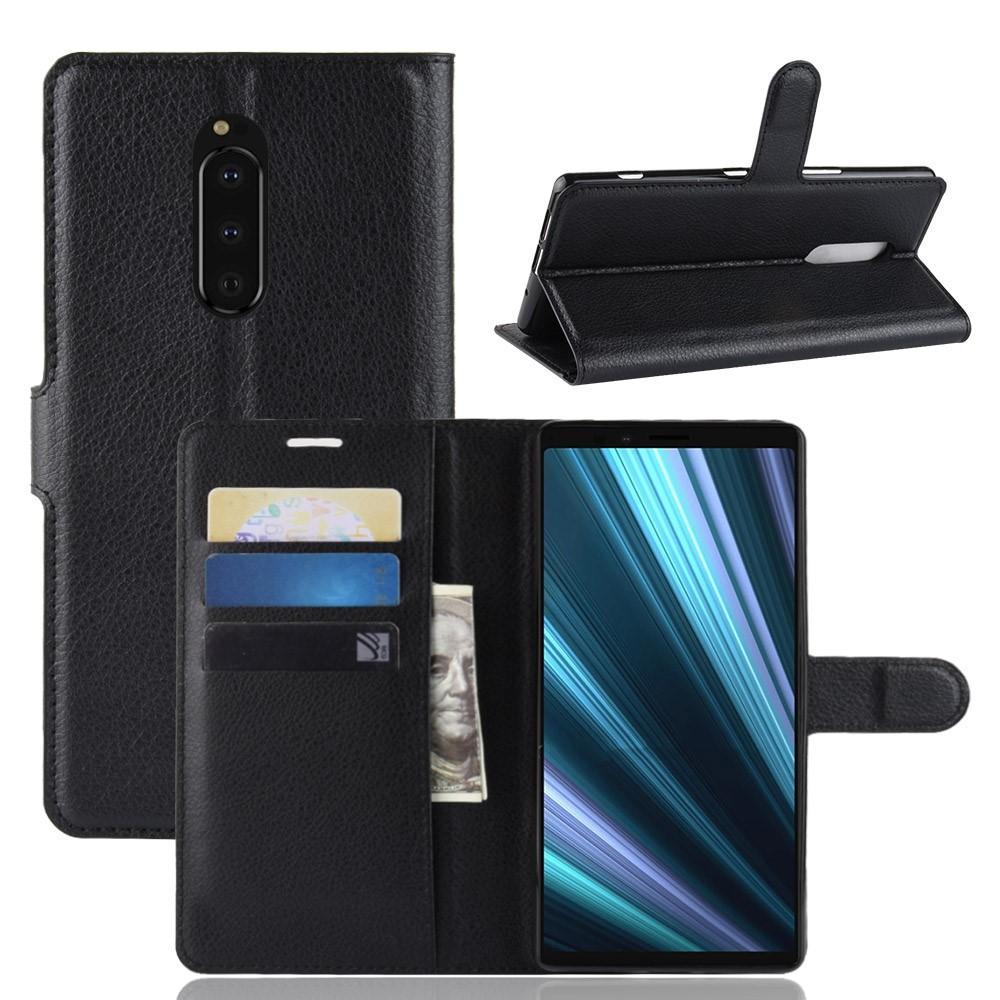 Mobilveske Sony Xperia 1 svart