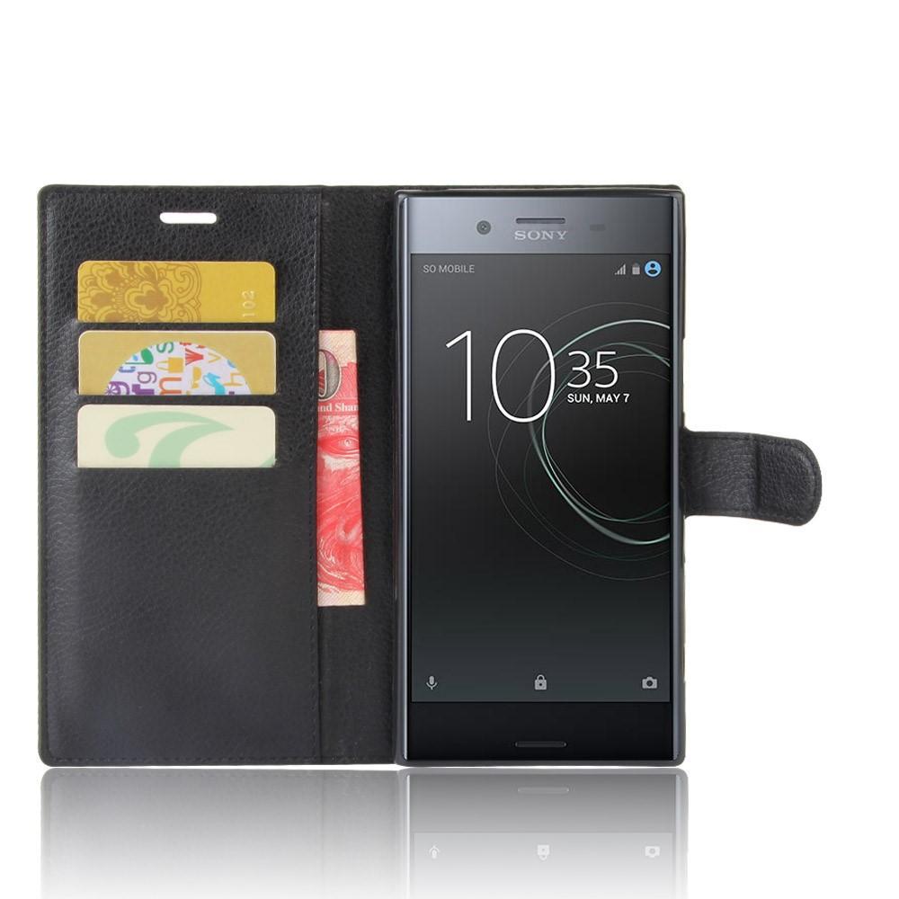 Mobilveske Sony Xperia XZ Premium svart