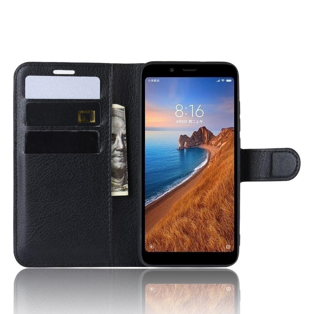 Mobilveske Xiaomi Redmi 7A svart