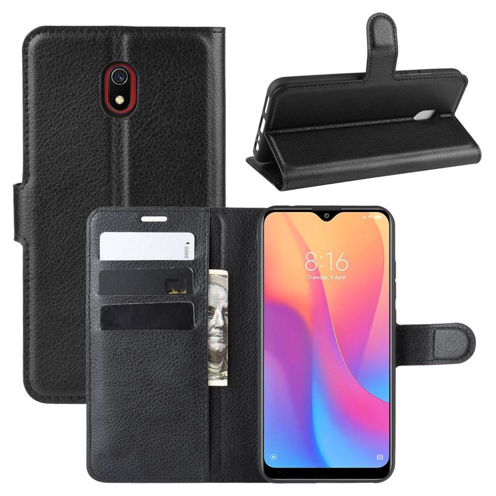 Mobilveske Xiaomi Redmi 8A svart