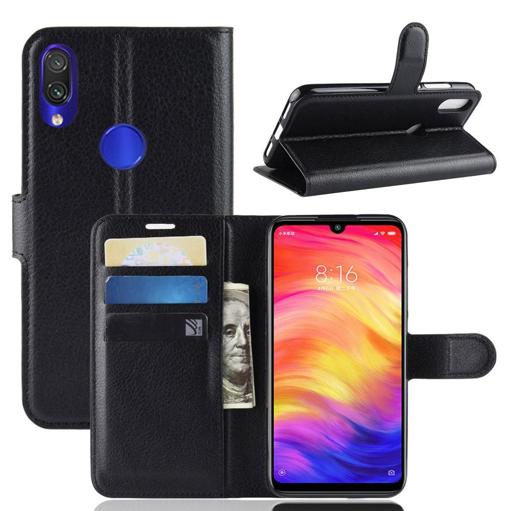 Mobilveske Xiaomi Redmi Note 7 svart