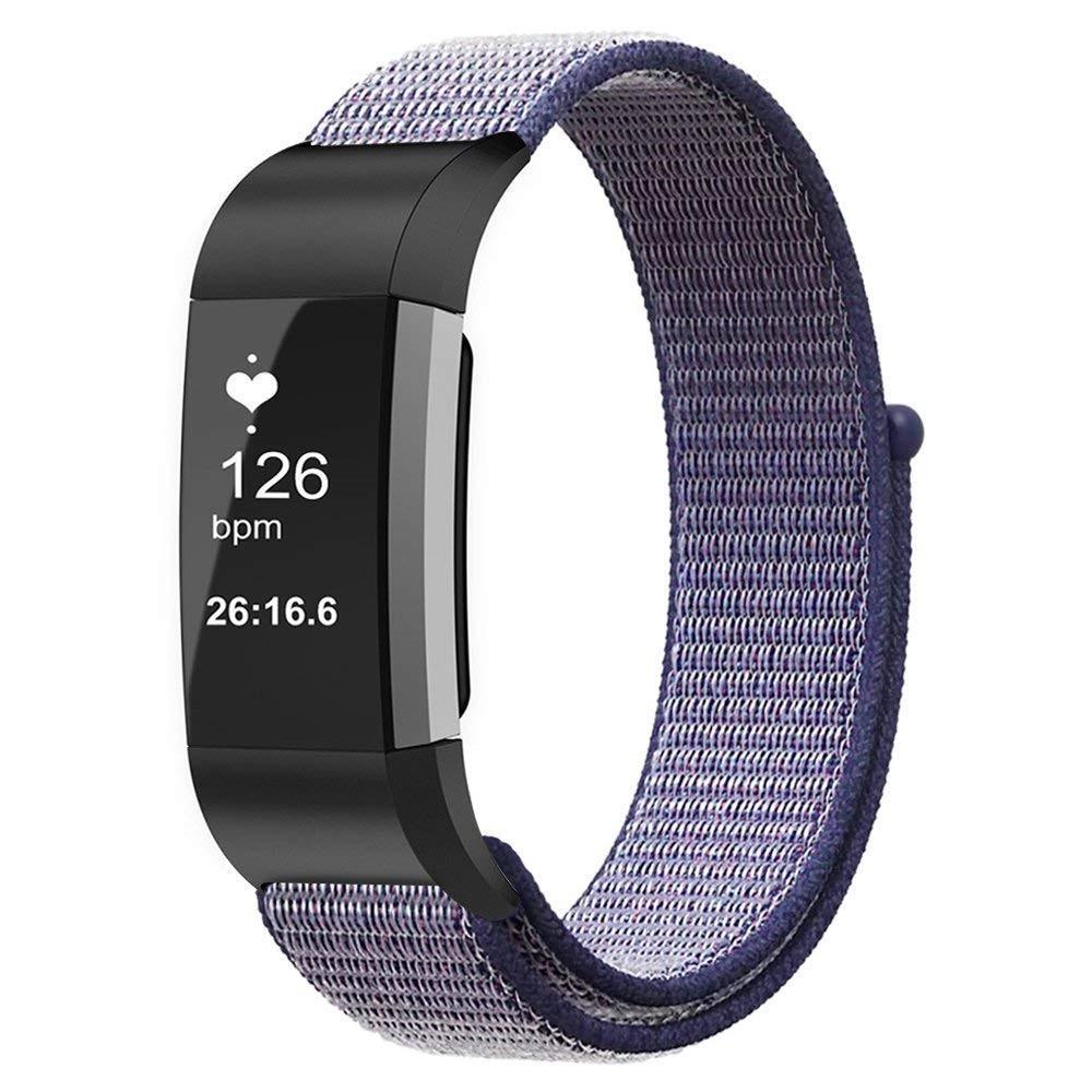 Nylonarmbånd Fitbit Charge 3/4 blå