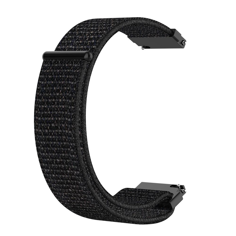 Nylonarmbånd Garmin Forerunner 245 svart