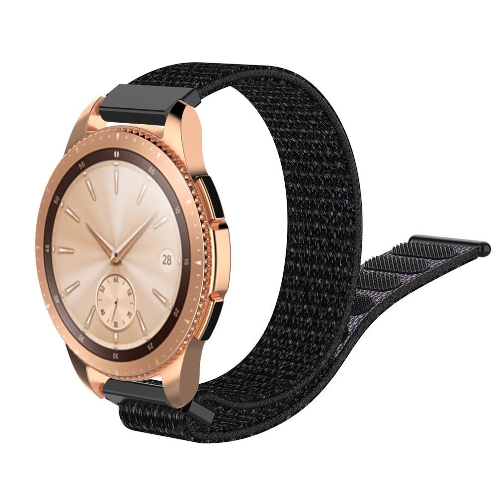 Nylonarmbånd Samsung Galaxy Watch 42mm/Active svart