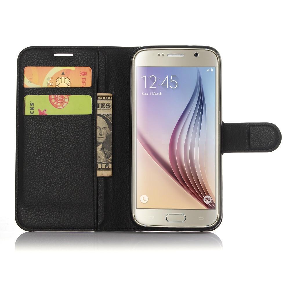 Mobilveske Samsung Galaxy S7 svart