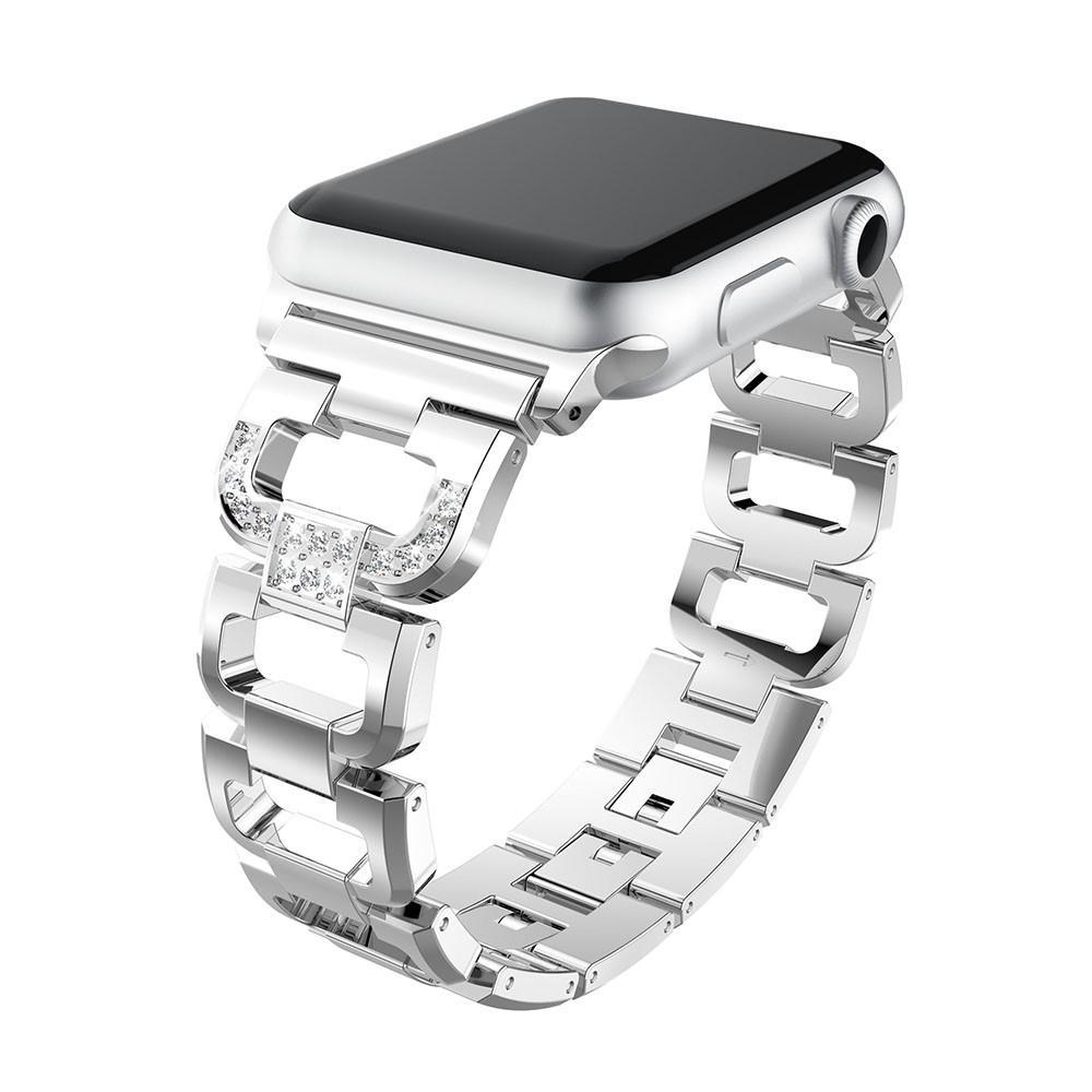 Rhinestone Bracelet Apple Watch 38/40 mm Silver