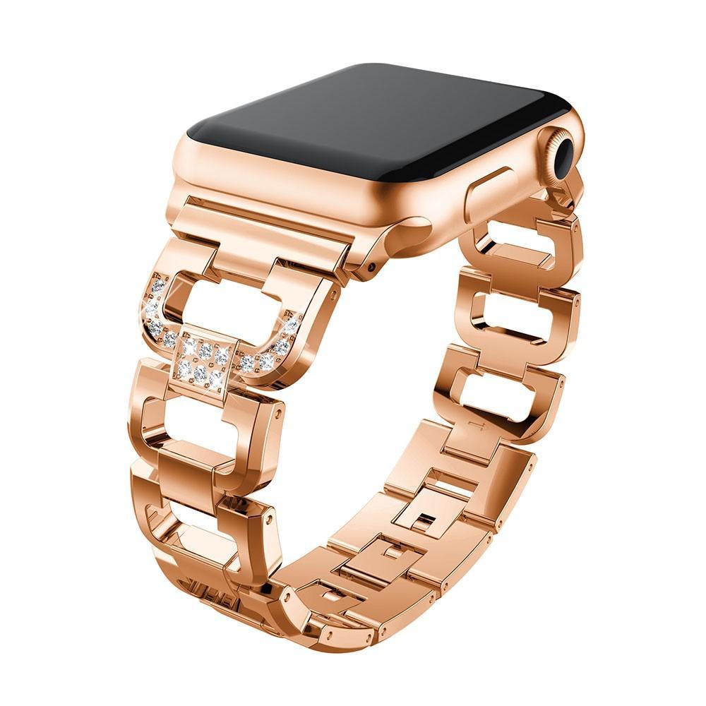 Rhinestone Bracelet Apple Watch 42/44 mm Rose Gold