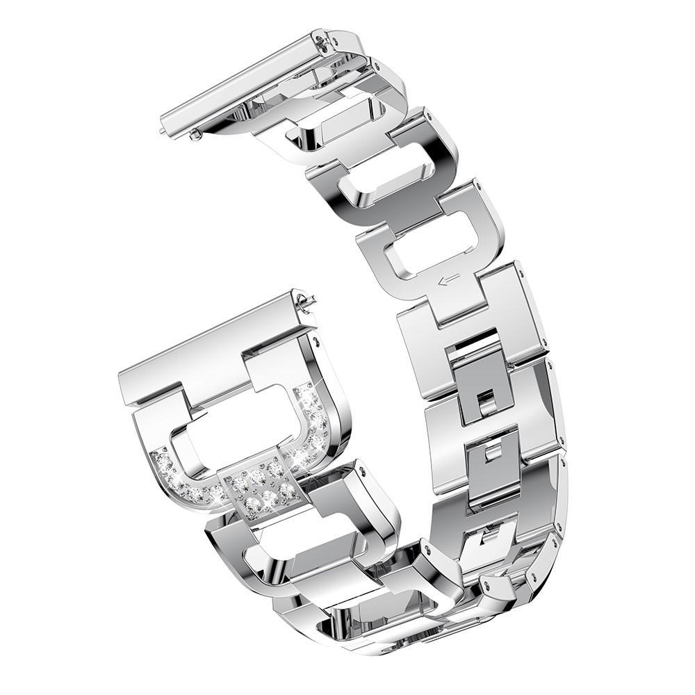Rhinestone Bracelet Galaxy Watch 42mm/Watch Active Silver