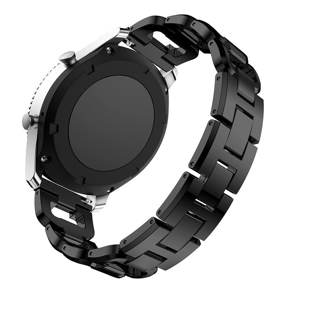 Rhinestone Bracelet Galaxy Watch 46mm/Gear S3 Black