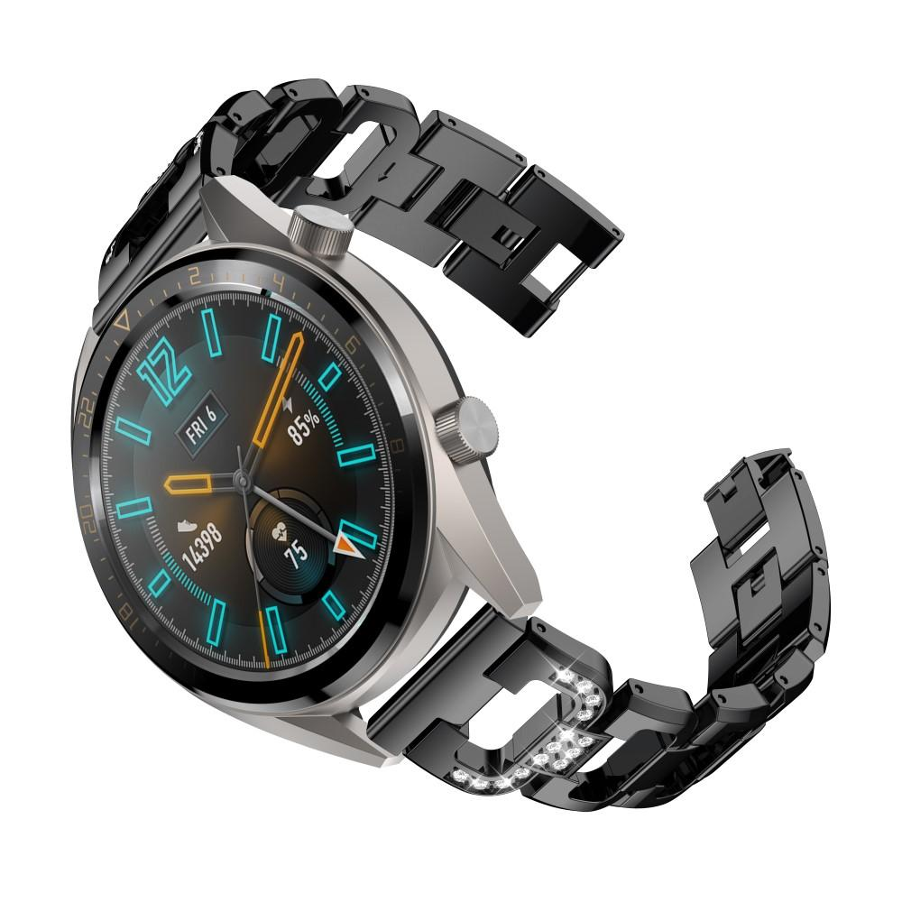 Rhinestone Bracelet Huawei Watch GT/GT 2 46mm/GT 2e Black