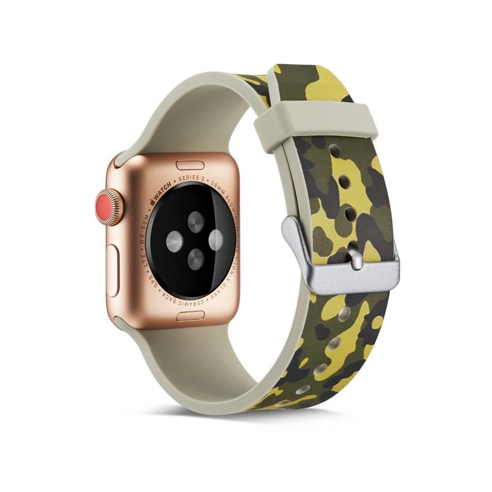 Silikonarmbånd Apple Watch 42/44/45 mm kamouflage