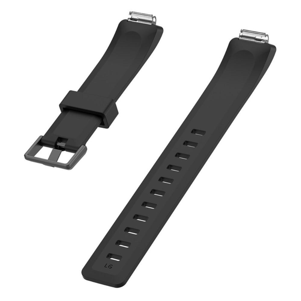 Silikonarmbånd Fitbit Inspire/Inspire HR/Inspire 2 svart