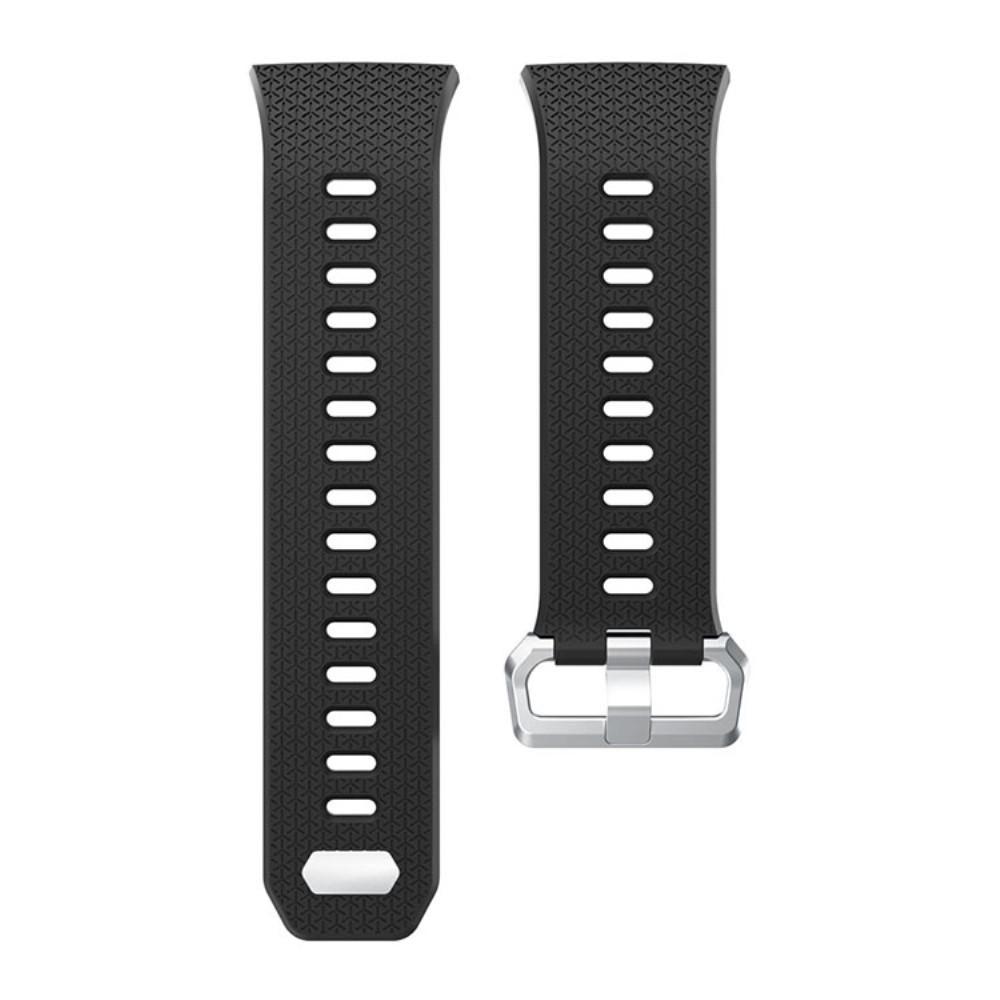 Silikonarmbånd Fitbit Ionic svart