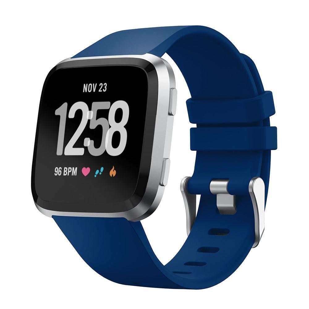 Silikonarmbånd Fitbit Versa/Versa 2 blå