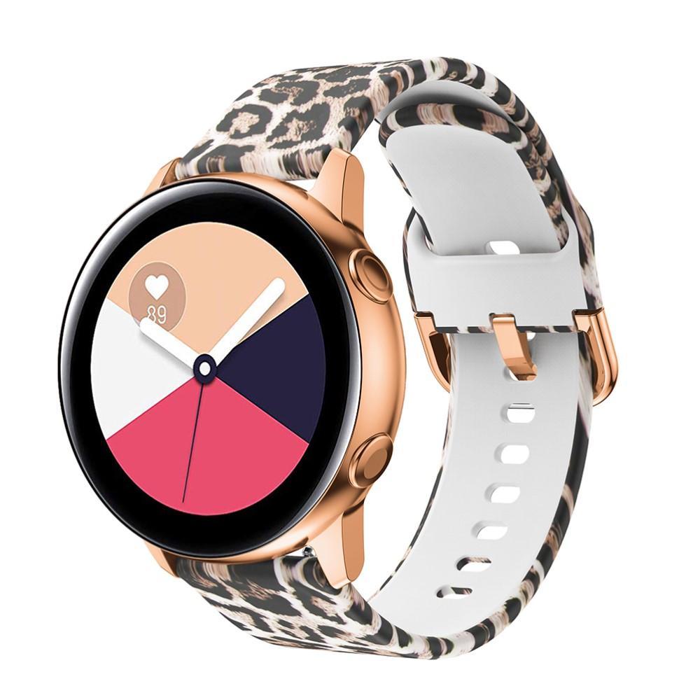 Silikonarmbånd Galaxy Watch 42mm/Active leopard