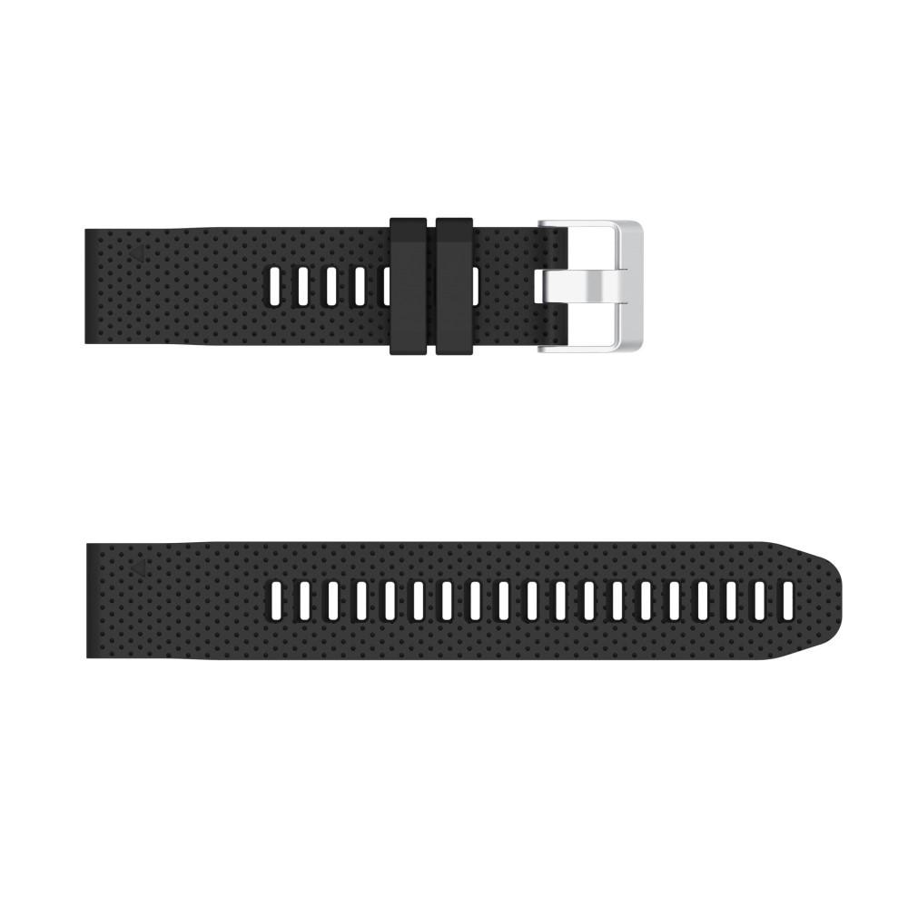 Silikonarmbånd Garmin Fenix 6S/6S Pro svart