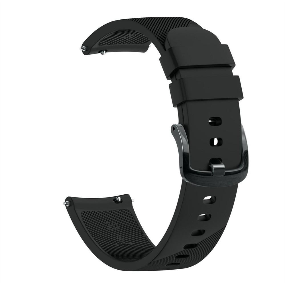 Silikonarmbånd Garmin Forerunner 645 svart