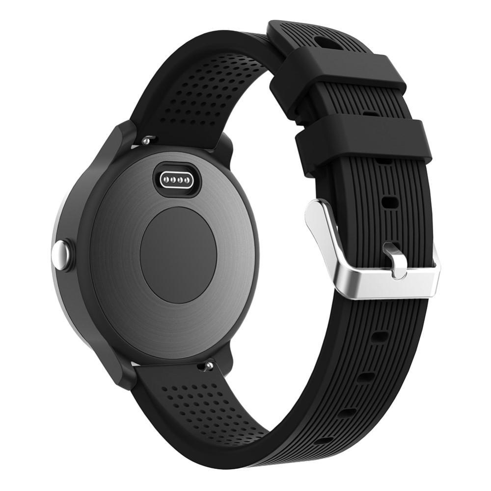 Silikonarmbånd Garmin Vivoactive 3/Venu svart