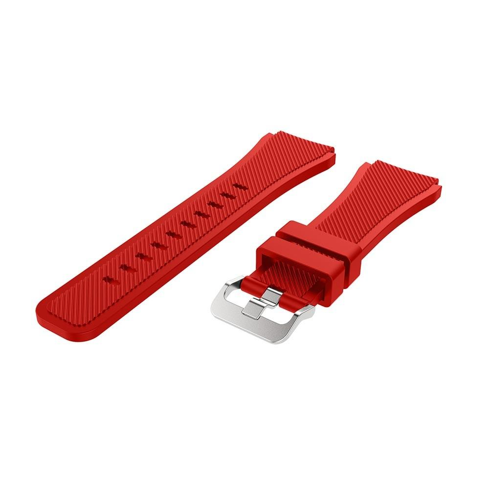 Silikonarmbånd Samsung Galaxy Watch 46mm/45mm rød