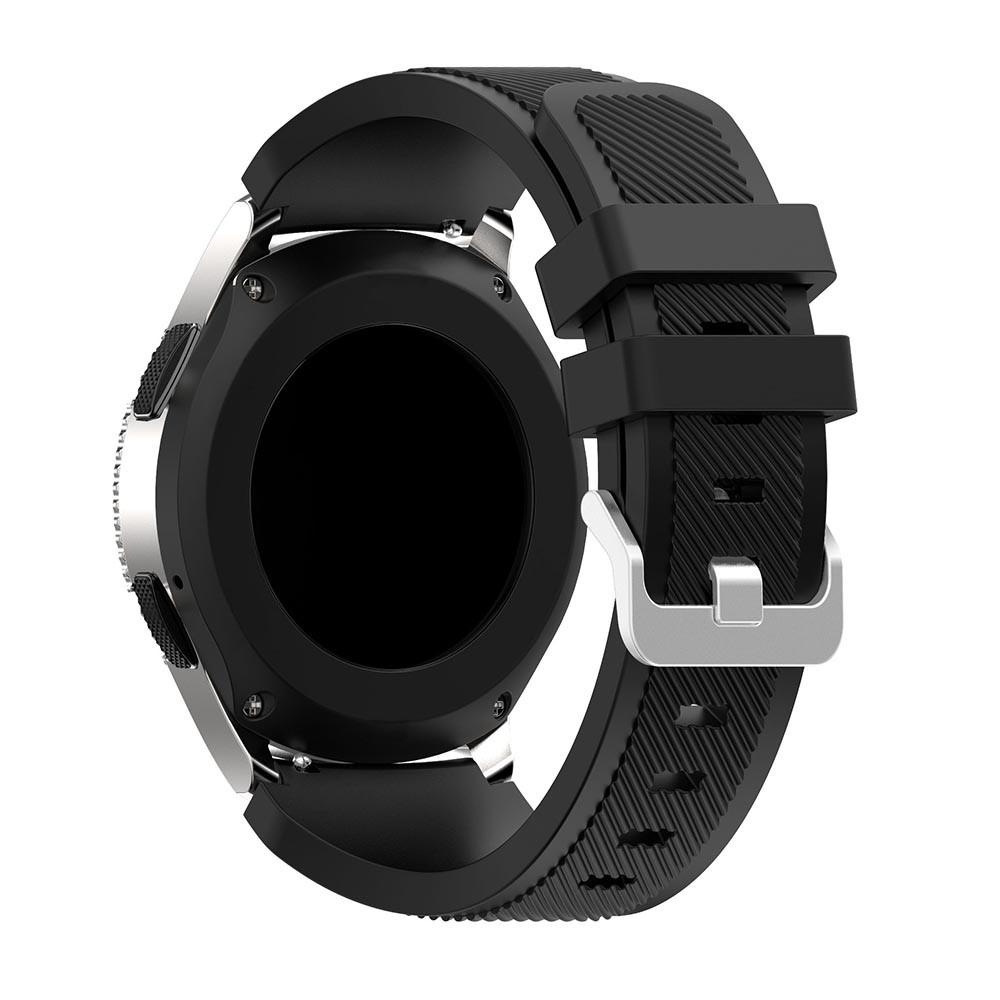 Silikonarmbånd Samsung Galaxy Watch 46mm/45mm svart