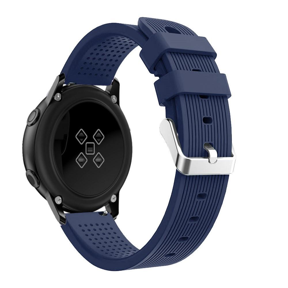 Silikonarmbånd Samsung Galaxy Watch Active/41mm/42mm blå