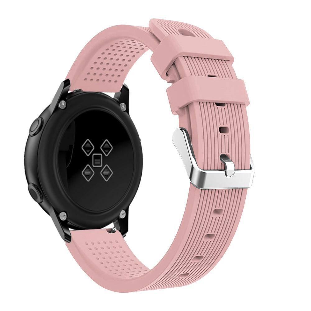 Silikonarmbånd Samsung Galaxy Watch Active/41mm/42mm rosa