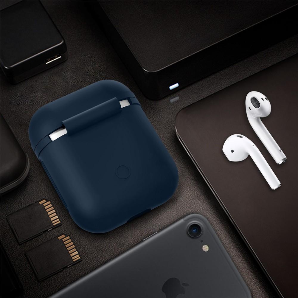 Silikondeksel Apple AirPods marineblå