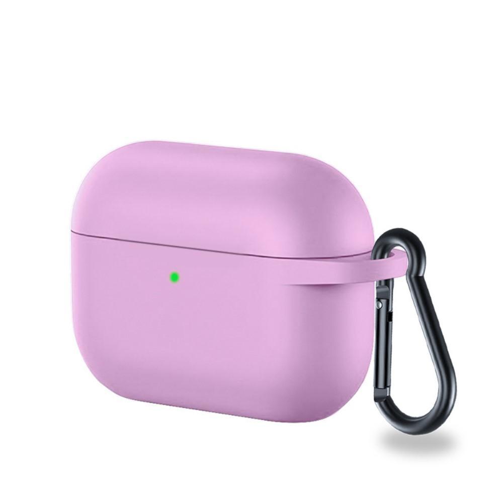 Silikondeksel med karabinkrok Apple AirPods Pro lilla