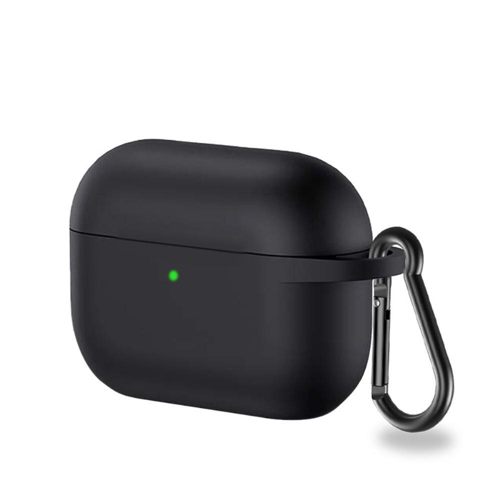 Silikondeksel med karabinkrok Apple AirPods Pro svart