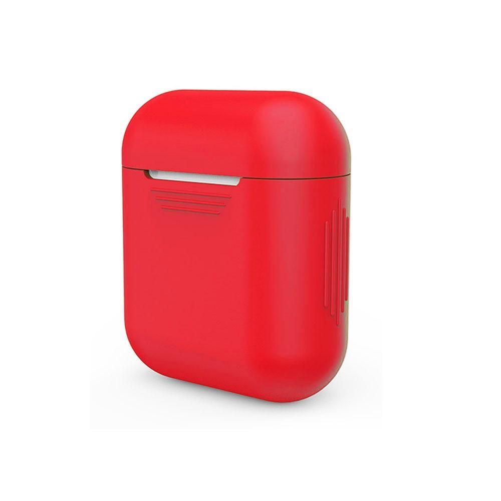 Silikondeksel Apple AirPods rød