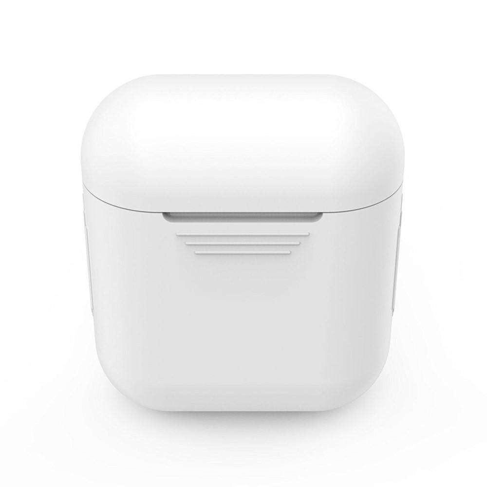 Silikondeksel Apple AirPods hvit