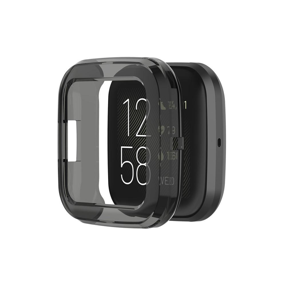 Deksel Fitbit Versa 2 svart