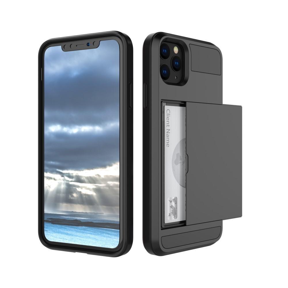 Deksel Kortholder Apple iPhone 11 svart