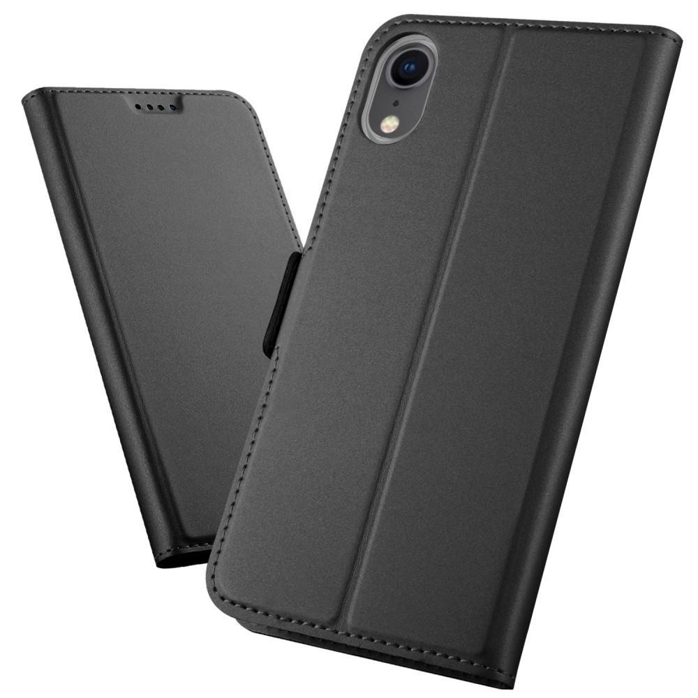 Slim Card Wallet Apple iPhone XR grå
