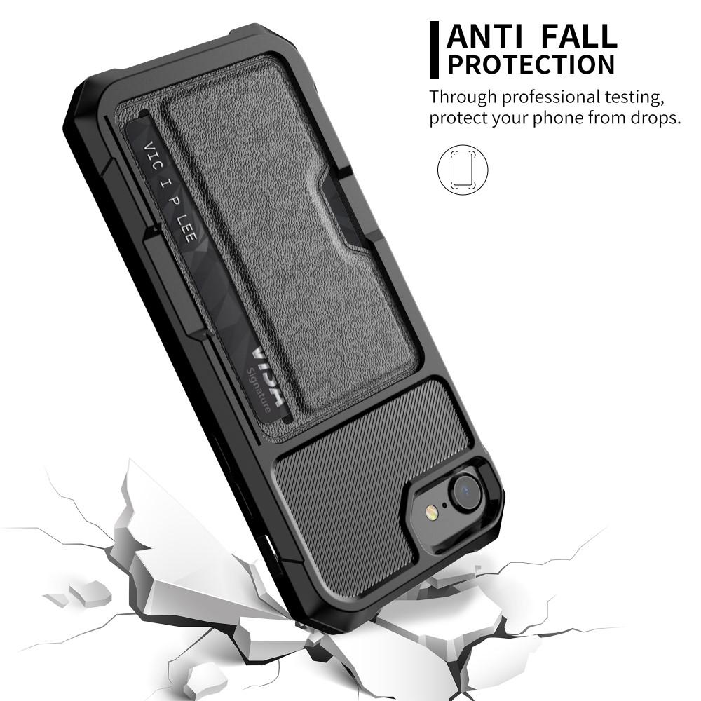 Tough Card Case iPhone 6/6S/7/8/SE 2020 svart