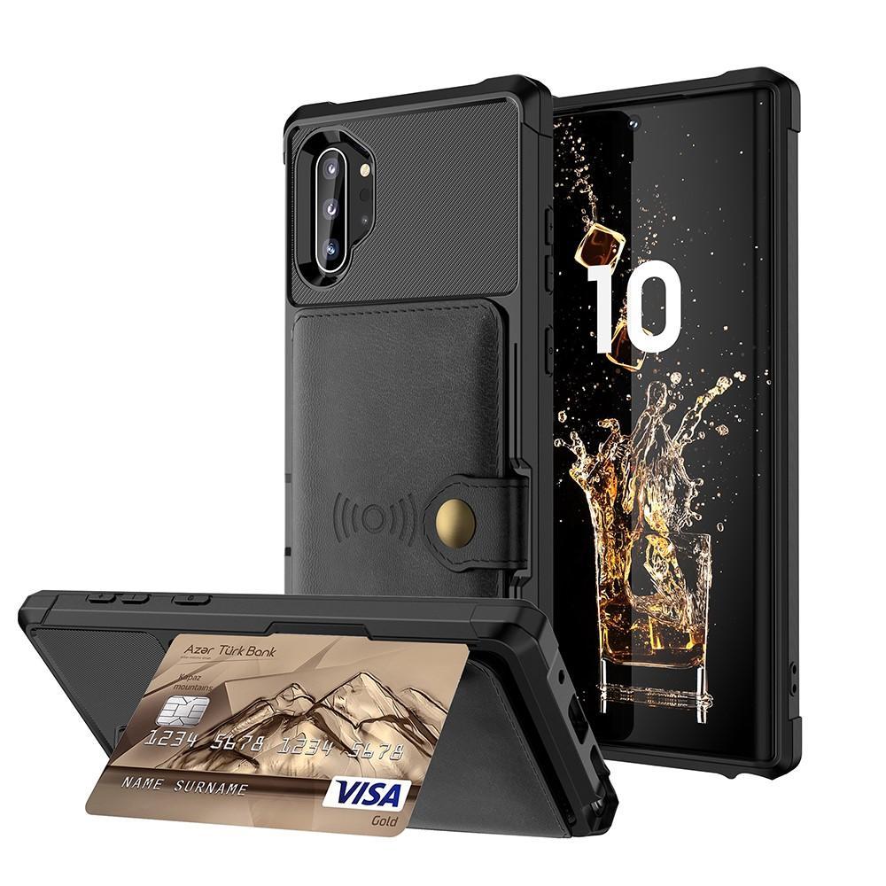 Tough Multi-slot Case Galaxy Note 10 Plus svart